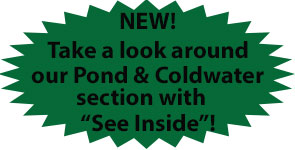 See inside the Pond / Coldwater Room